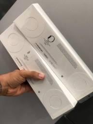 Apple Watch Serie 5 44mm GPS/Caixa de Alumínio Prateada e Pulseira Esportiva Branco