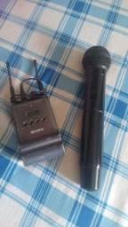 Microfone de mãos sem fio