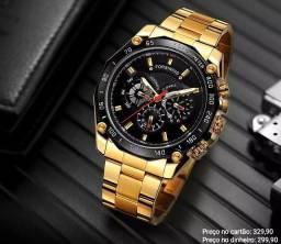 Relógio Masculino Automático Forsining 100% Funcional