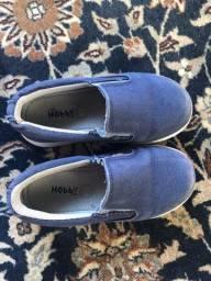 Sapato infantil menino azul