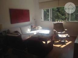 Apartamento à venda na Gávea, 110m² com vista para a mata e para o Cristo Redentor - RJ