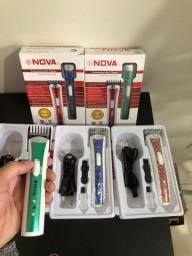 Máquina de Aparar Pelos, Barba e Pezinho Multifuncional Nhc-3780 Nova