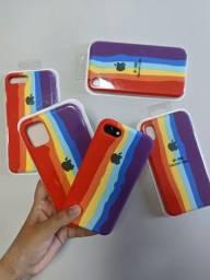 Cases/capas/capinhas  arco-íris/lgbt/tom pastel/azul
