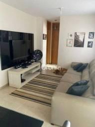 Apartamento com 2 dormitórios à venda, 63 m² por R$ 222.000,00 - Setor Negrão de Lima - Go