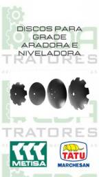 """Disco de Grade NOVOS - 22"""" 26"""" e 28"""""""