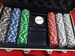 Maleta de 200 fichas de Poker