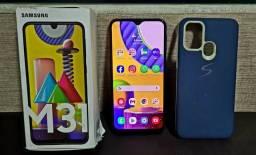Samsung M31 128gb + 6ram - Completo e Bem Conservado