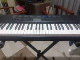 Vende teclado Casio ctk 1200 e capa para teclado