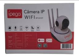 Câmera Segurança Sem Fio Ip Hd 720p Wifi Áudio Sd 360º