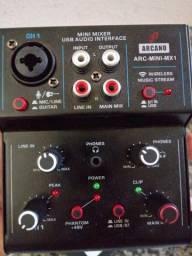 Interface de áudio Arcano