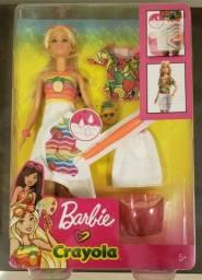 Boneca Barbie Super Frutas Crayola - Mattel
