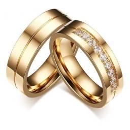 Alianças para Namoro/Noivado/Casamento