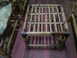conjunto sofa bambu