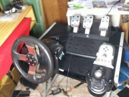 Bateria acústica RMV + volante G27.