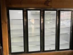 Freezer Expositor Vertical Fricon 5 Portas Vidro 2370 Litros 220v