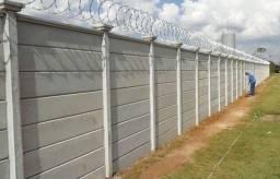 vendo so' o material do seu muro pre moldado de concreto!
