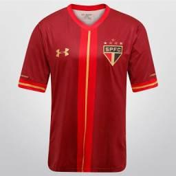 Camisa Camiseta São Paulo III 15/16 Under Armour Vinho Original