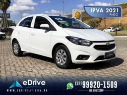 Chevrolet Onix LT 1.0 Flex 5p Mec. - IPVA 2021 Pago - 4 Pneus Novos - Muito Lindo - 2019