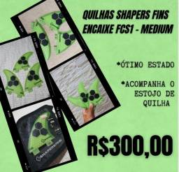QUILHAS SHAPERS FINS