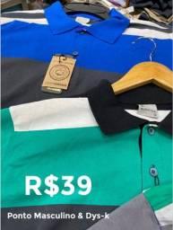 Camisas Sociais de Malha