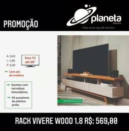 RACK Wood montagem gratuita