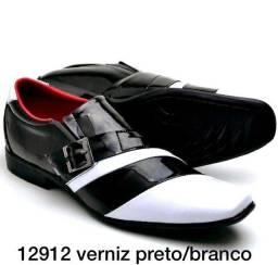 Sapato social de luxo veniz e couro legítimo ATACADO E VAREJO