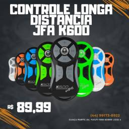 Controle Remoto Longa Distância Jfa K600 Preto/cinza Blister