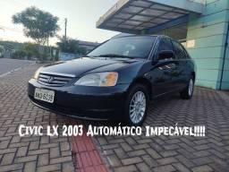 Civic LX Automático Impecável !!!!!!
