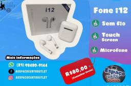 Fone AirPods Bluetooth I12