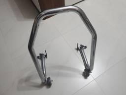 Cavalete traseiro para moto