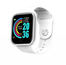 Novo Smart Watch Y68 Com Rastreador Fitness Para Ios / Android