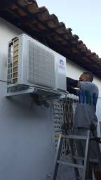 Concertos em maquinas de lavar e esplites , estalação de ar-condicionado