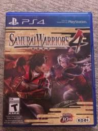 Jogo PS4 Samurai Warriors 4