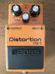 Pedal distorção Boss DS1 guitarra