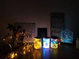 Luminária de pote Artesanarthe