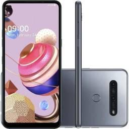 Celular LG K51s 64gb Câm. Quádrupla + Selfie 13mp<br><br>