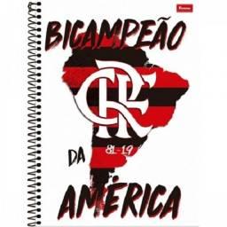 Caderno Flamengo 10 matérias