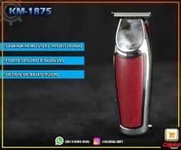 Maquina Acabamento Cabelo Barba S/fio 5w Kemei 1875 Bivolt t20sd4sd21