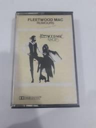 Fita cassete usada Fleetwood Mac em ótimo estado de conservação