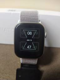 Relógio inteligente, com 2 pulseiras, coloca fotos