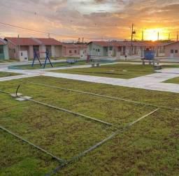 Casa de condomínio para venda possui 45 metros quadrados com 2 quartos