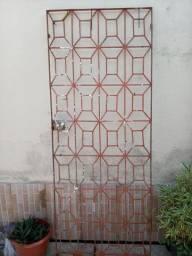 Porta de ferro 2.04x0.80
