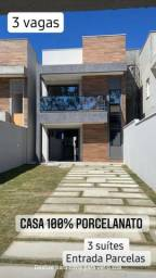 Casas de 3 suítes  100m2