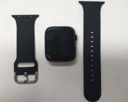 "smartwatch iwo dt100 Tela hd ips 1.75"" preto"