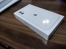 Iphone 11 64gb Branco Novo Lacrado Nf Garantia (Anatel)