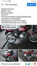 Moto 125 sandaw motor varetinha em dias