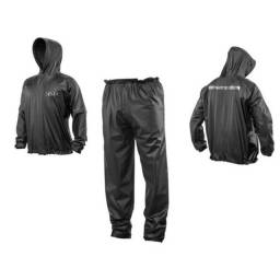 Motoqueiro jaqueta com capilaridade e calça, nylon impermeável