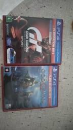 Vendo Dois  jogos de PlayStation 4 , Usado