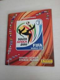 Álbum de figurinhas Copa 2010