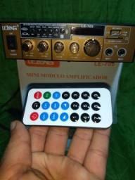 """R$ 249,90_UNiV£RSAL """"C/Bluetooth"""" AMPLiFiCAD0R Multimídia 800W """"ZER0"""""""